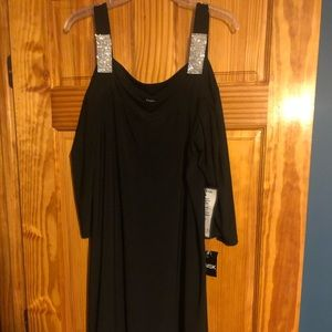 MSK Brand New Black Cold Shoulder Dress